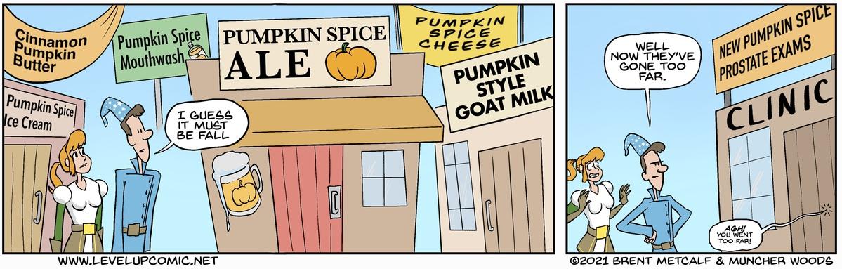 Pumpkin Spicy!